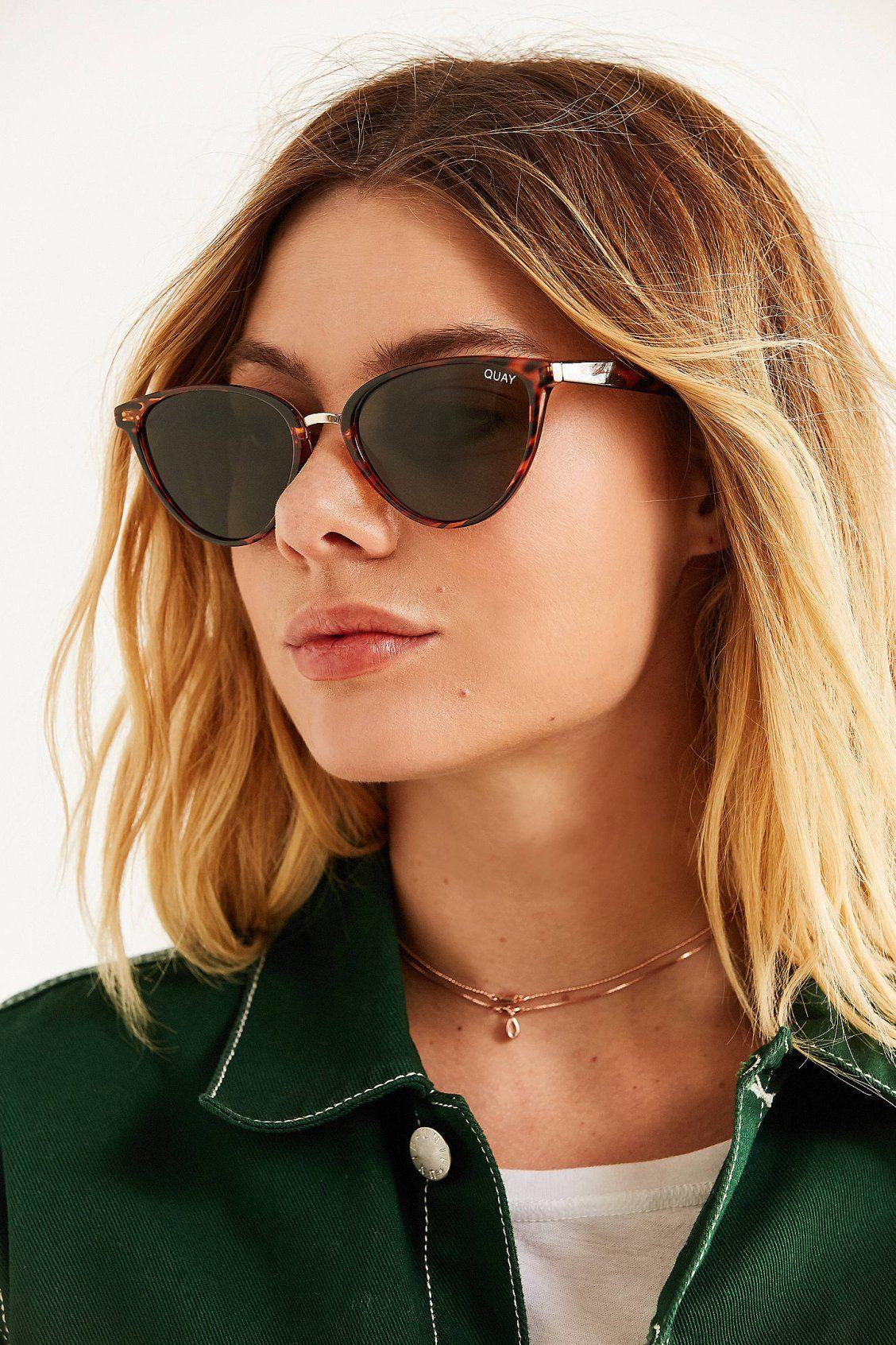 9ecb715b715 Quay Rumors Cat-Eye Sunglasses