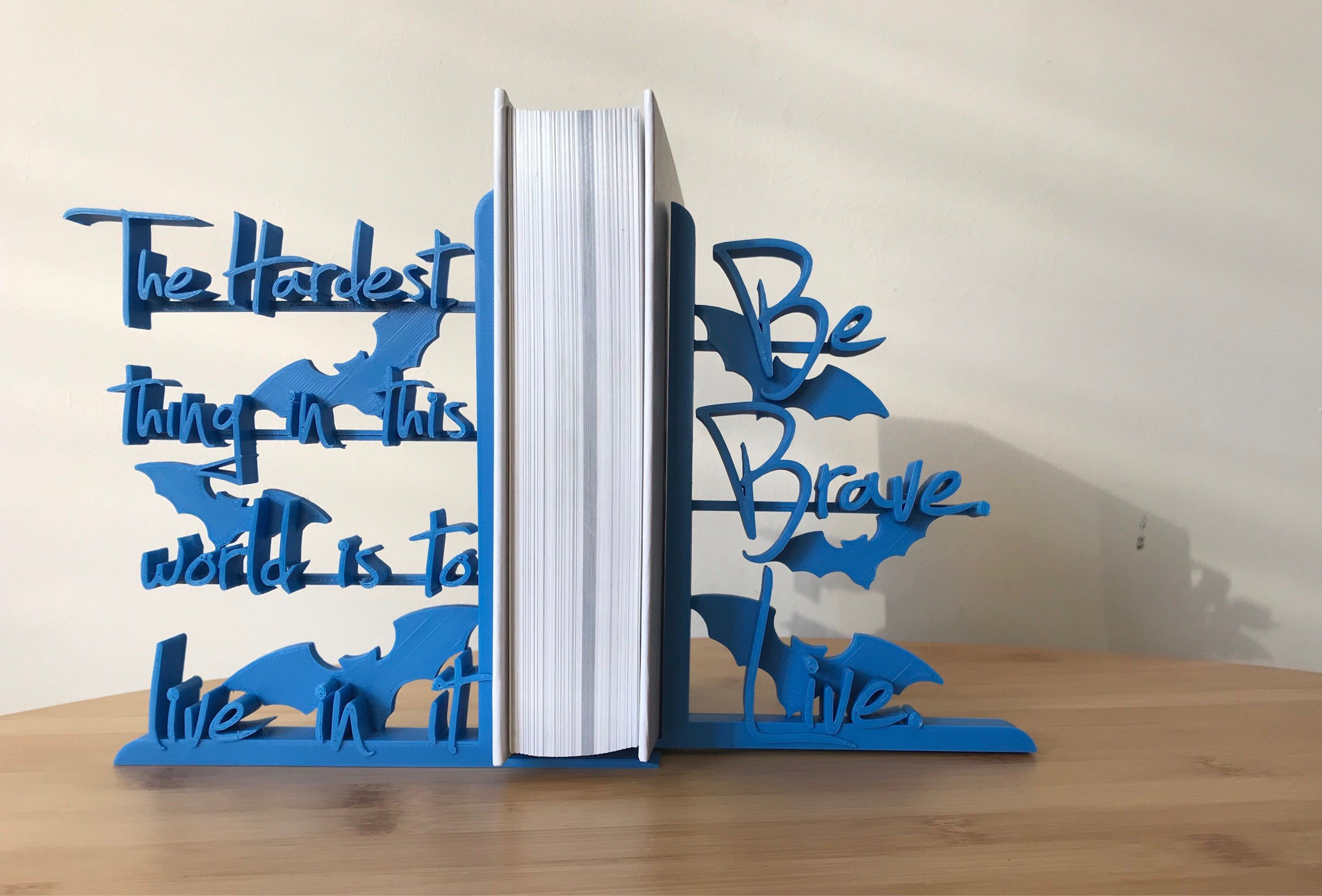 Buffy The Vampire Slayer  3D Printed Decorative Lightweight Bookends