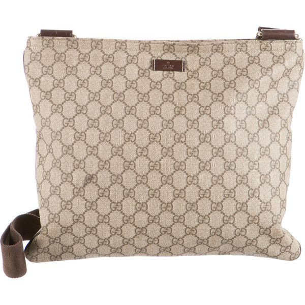 Pre-owned Gucci GG Plus Messenger Bag