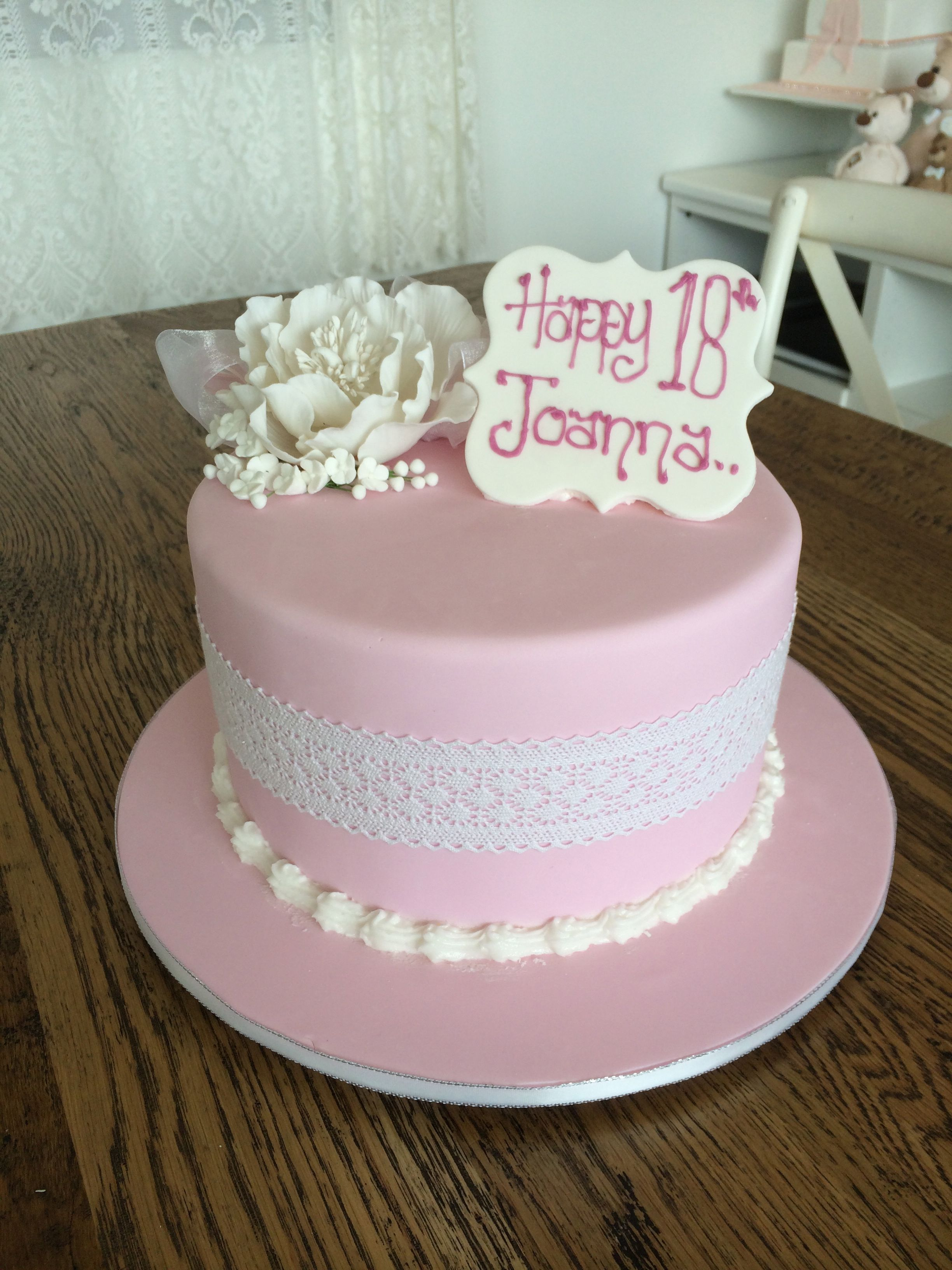 Pretty In Pink Sweet Designs By Claire Birthday Fun Love