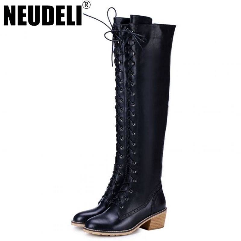 Leather boots women, Womens tall boots