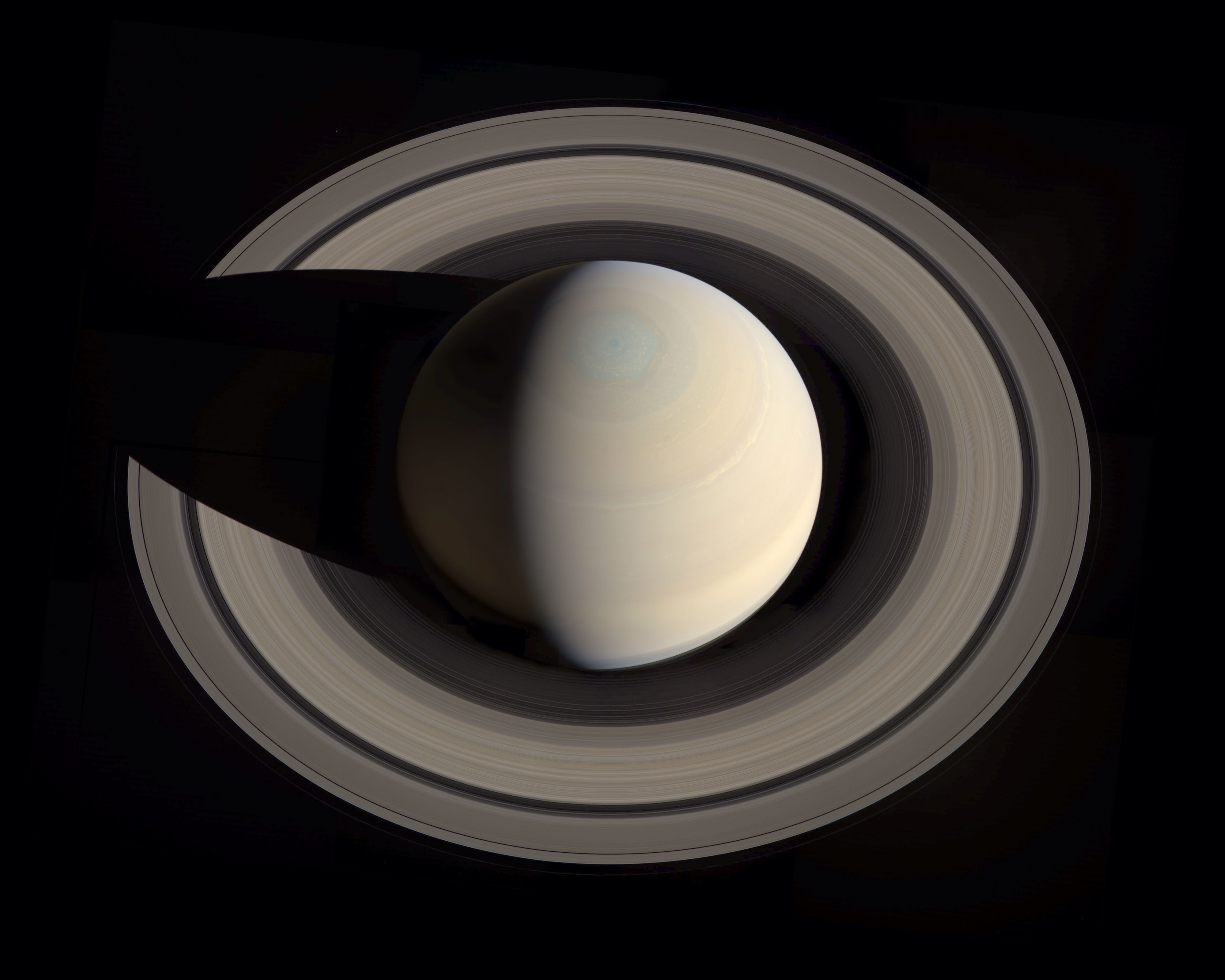 Latest pics of Saturn are AWESOME! | Cool | Pinterest