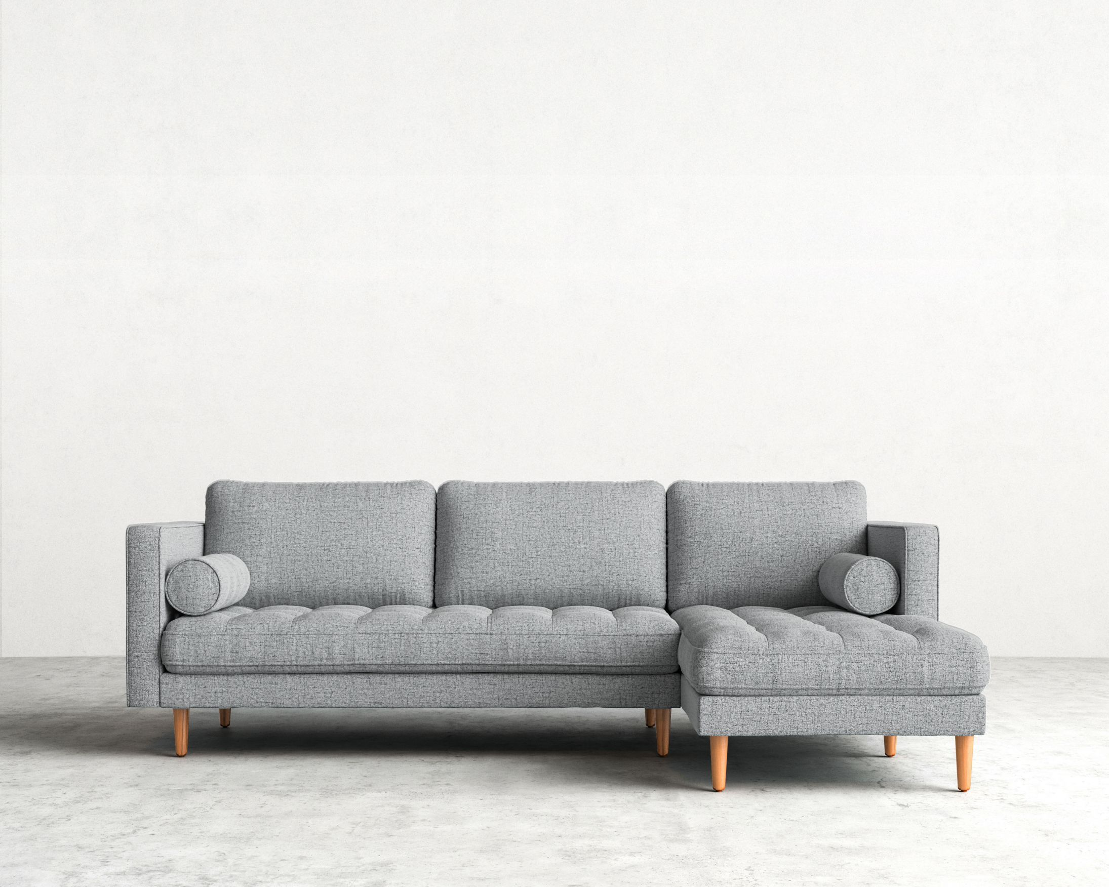 Luca Sectional Sectional Sofa Inspiration Modern Sectional