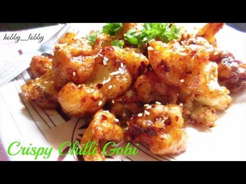 Crispy crunchy chilli gobi chilli cauliflower easy party crispy crunchy chilli gobi chilli cauliflower easy party appetizer recipe youtube forumfinder Choice Image