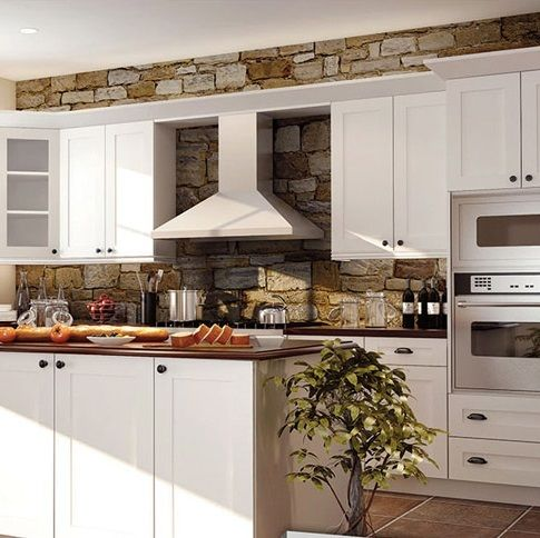 Best Hampton Bay White Shaker Kitchen Cabinets With Images 400 x 300