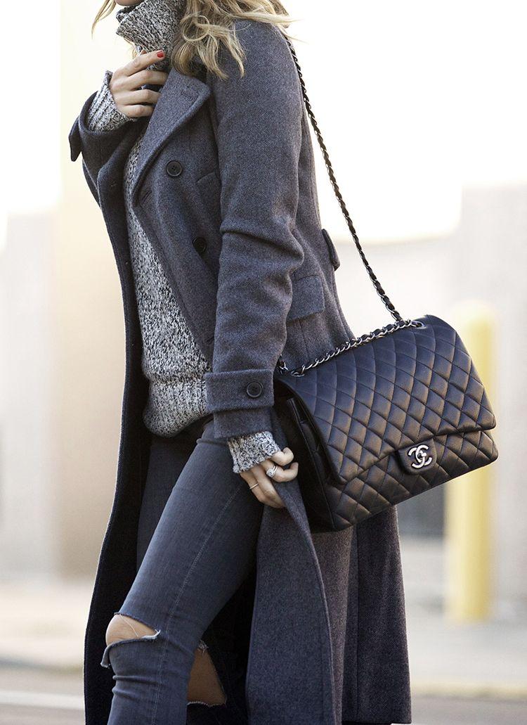 Chanel Handväskor : Pin tillagd av sara h?jrup p? jackor kl?der