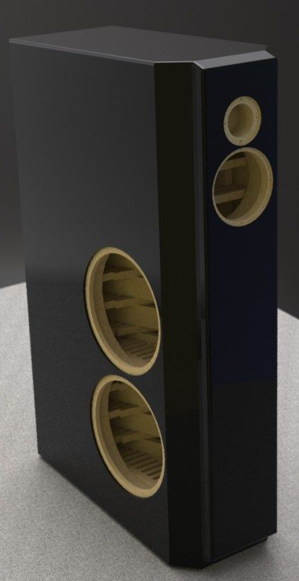 Genial Instrument 2 Loudspeaker Picture Speaker Box Design