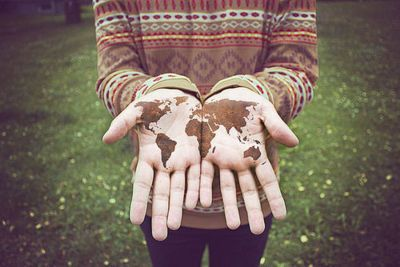 world in your hands.