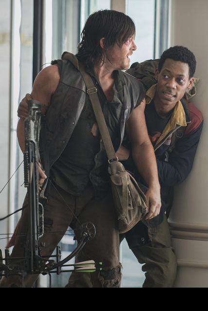 """The Walking Dead Season 5x06 """"Consumed"""" Daryl & Noah"""
