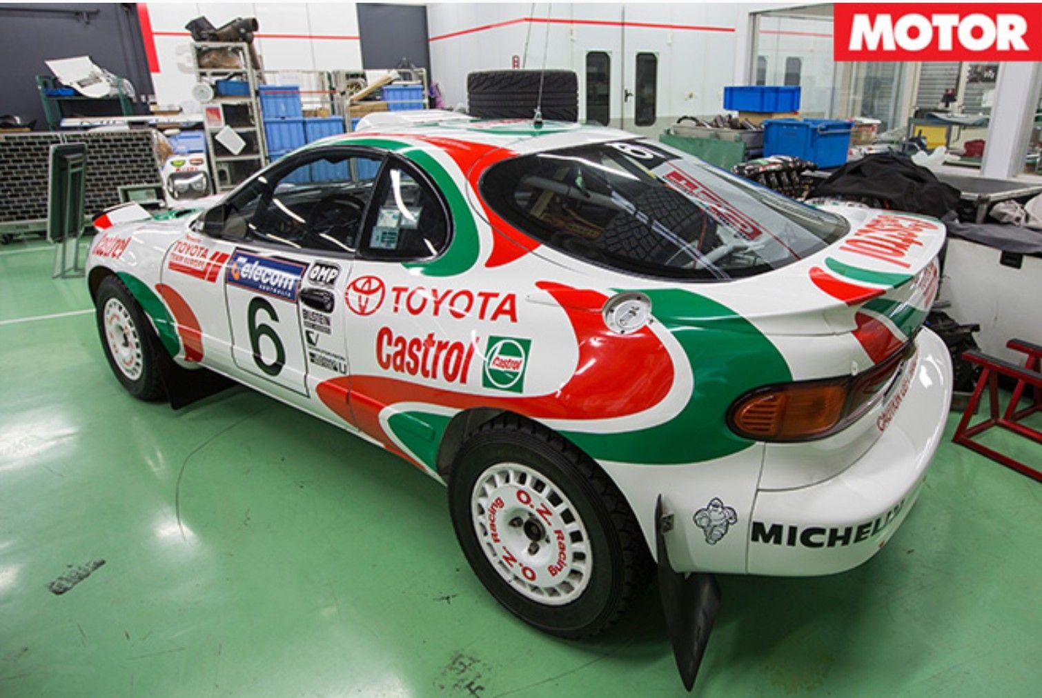 Toyota Celica Rally Preparation | Toyota Celica Rally TTE ...