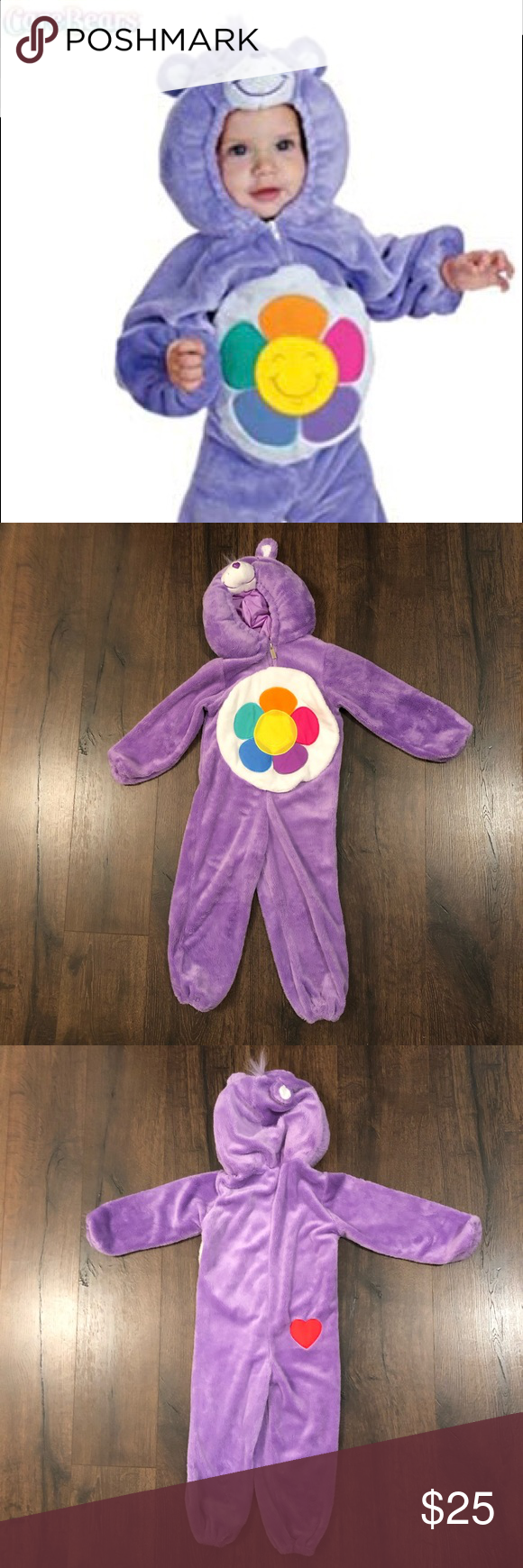 Toddler Care Bears Costume 3T-4T Great condition  Smoke free Pet free Costumes #carebearcostume