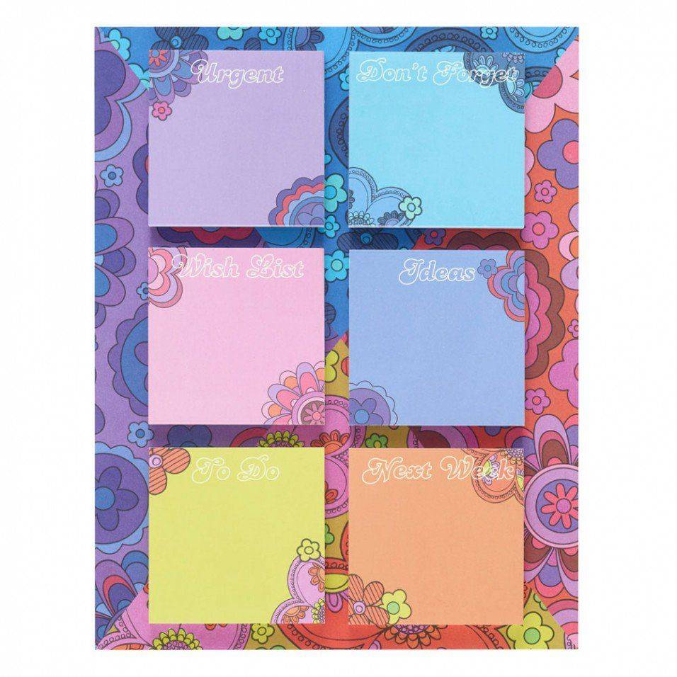 California Dreaming sticky note pad