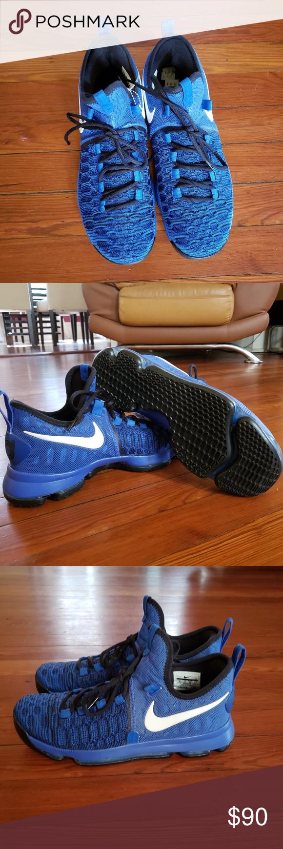 new product d396e 76519 Nike Zoom KD 9 On Court Royal Blue Black White NWOT Nike ...