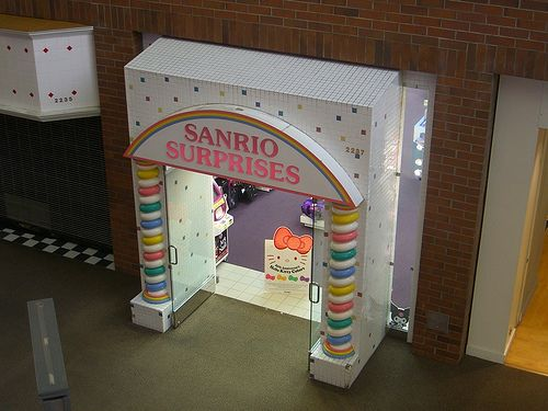 Sanrio Surprises  Glendale Galleria  Glendale, CA  One of my