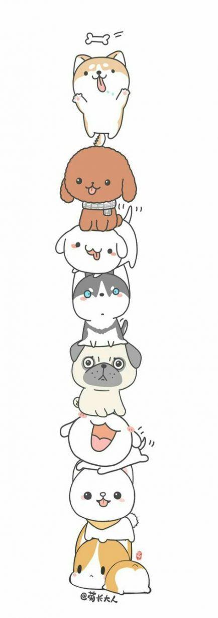 58+ new ideas drawing cute kawaii animal
