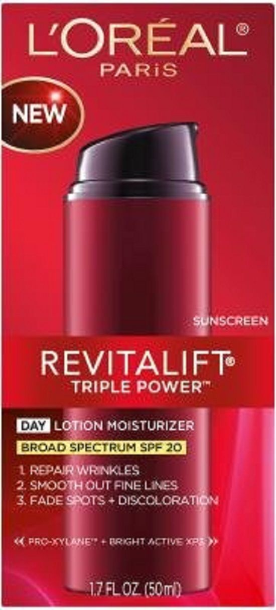 LOreal Paris Revitalift Triple Power Day Lotion SPF 20 Carita - Progress Youth Cleansing Milky Cream - 200ml/6.7oz