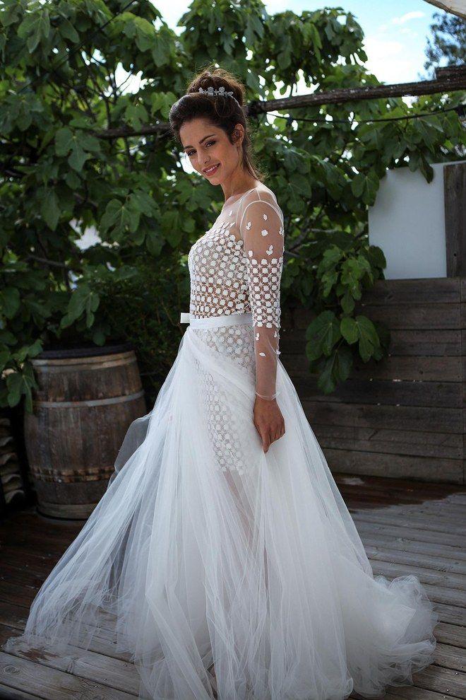 9fe287d736d On a craqué pour les robes de mariée Naf Naf 2015