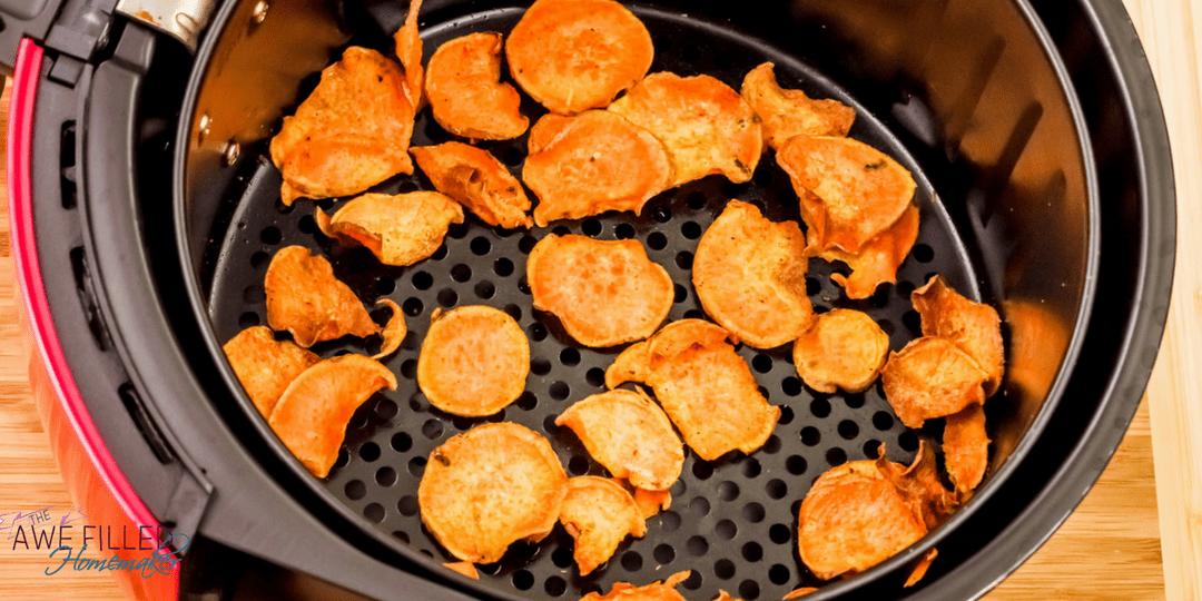 Air Fryer Sweet Potato Chips Recipe Air fryer recipes
