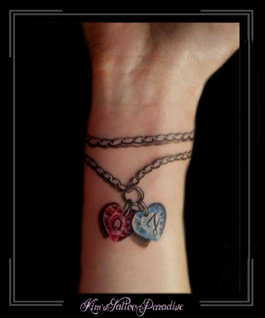 Par kärlek armband
