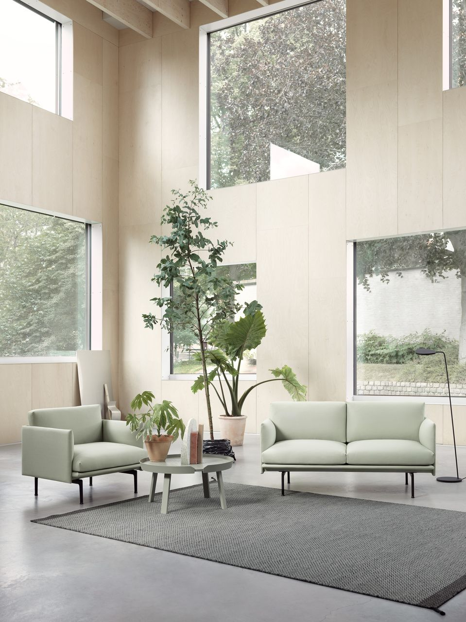 Scandinavian Interior Inspiration From Muuto The Outline Series Adds New Per Living Room Scandinavian Scandinavian Sofa Design Scandinavian Design Living Room