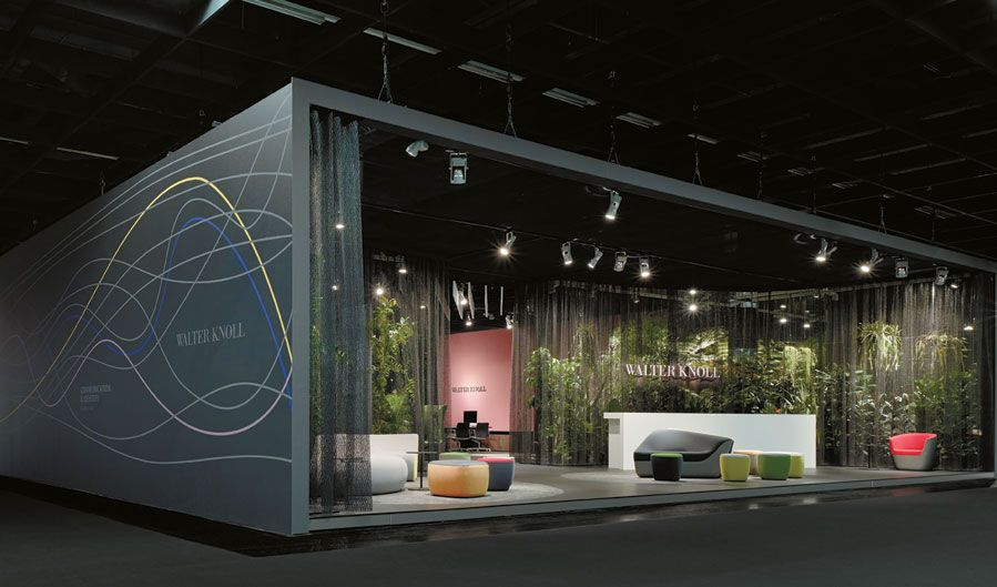 Award Winning Exhibition Stand Design : Force of nature booth design exhibit and
