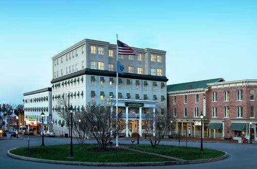 The Historic Gettysburg Hotel In Pennsylvania