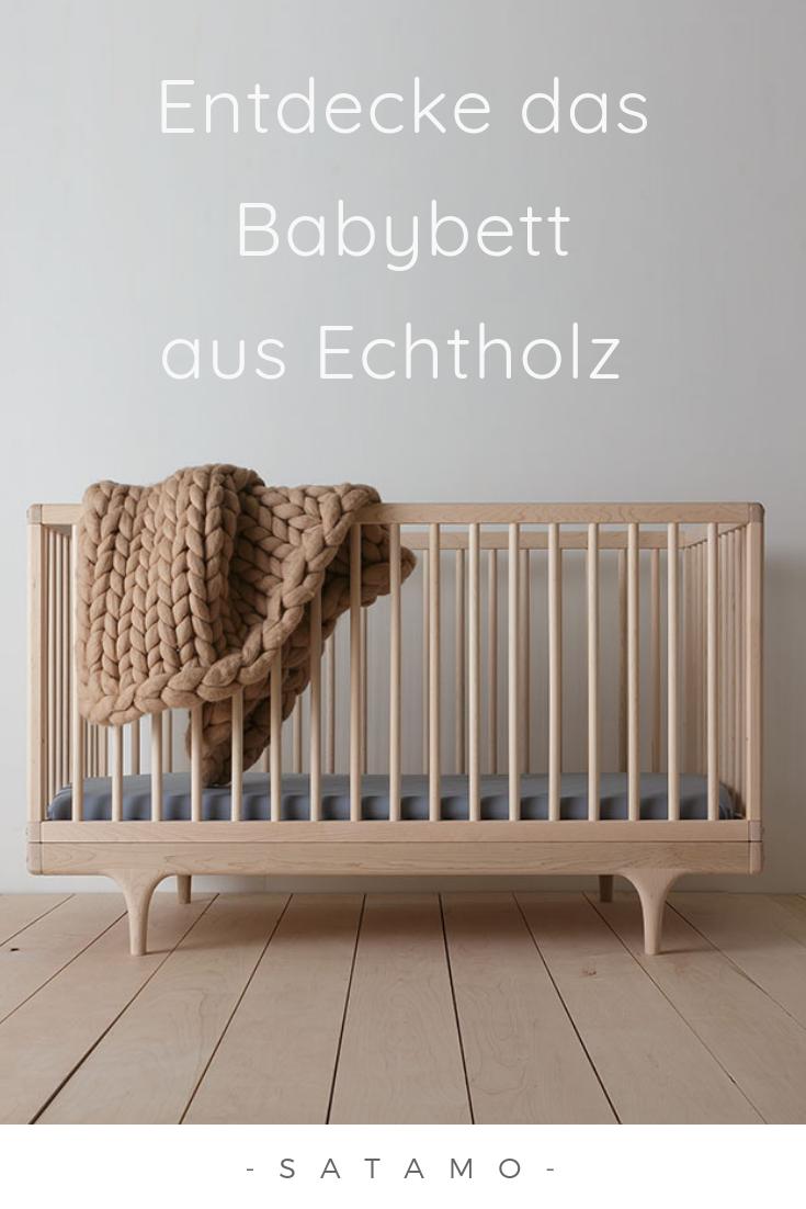 Super Babybett Echtholz in traumhaften Farben entdecken | Babymöbel in EV14