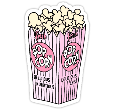 Popcorn Sticker By Dejected In 2021 Tumblr Transparents Tumblr Stickers Tumblr Png