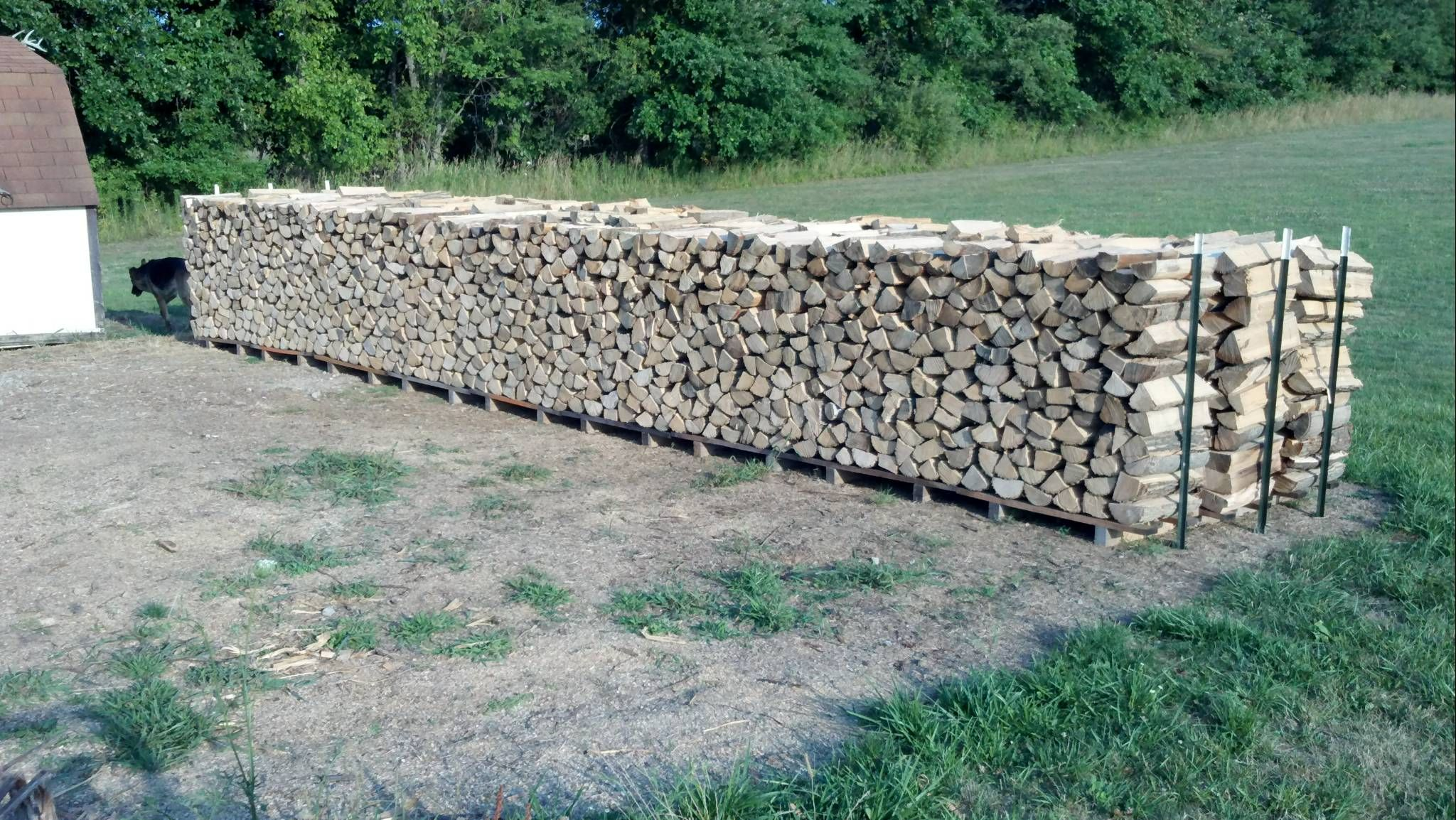 Firewood Holder Plans Or Tips For Outdoor Rack