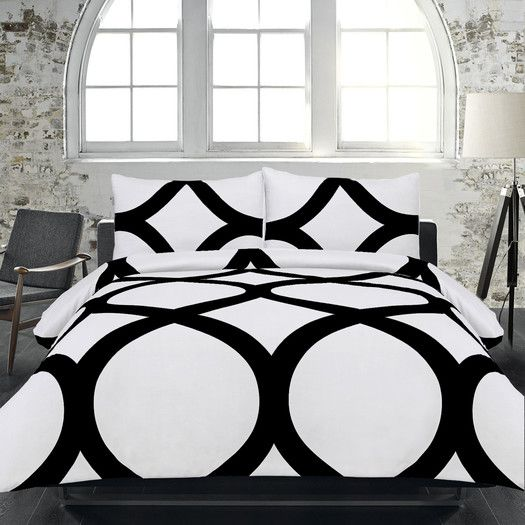 FREE SHIPPING! Shop AllModern for Maison Condelle Adrien Lewis Manhattan 3 Piece Duvet Cover Set - Great Deals on all  products with the best selection to choose from!