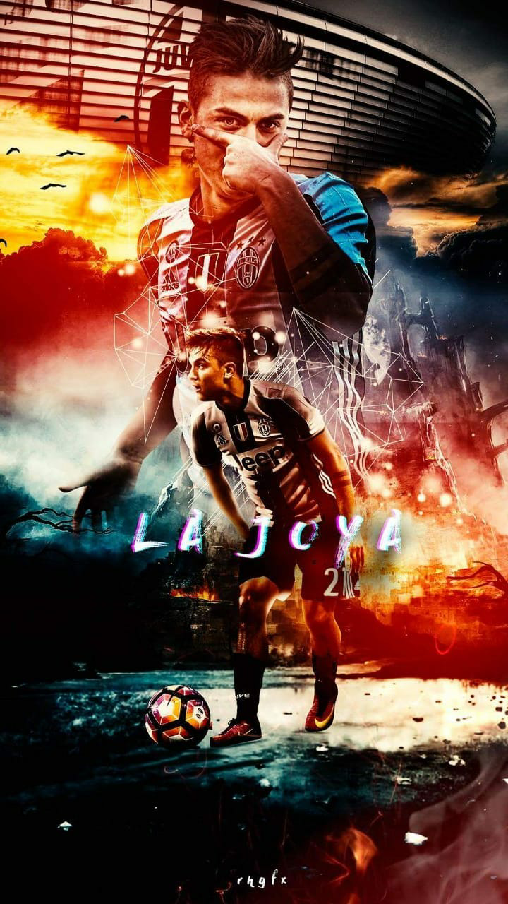 Paolo Dybala #football #juventus #art #wallpaper