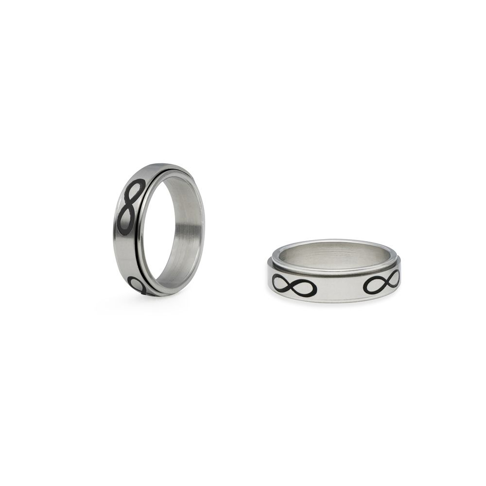 Infinity spinner ring infinity symbol spin and symbols infinity spinner ring buycottarizona Choice Image
