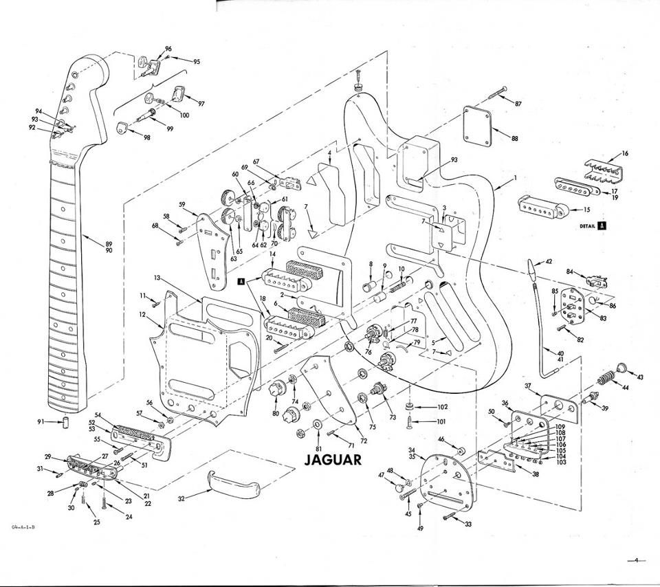 hight resolution of fender jaguar schematic