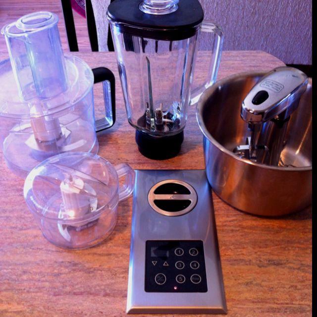 Kitchen Center Docking Station Blender Food Processor Mini