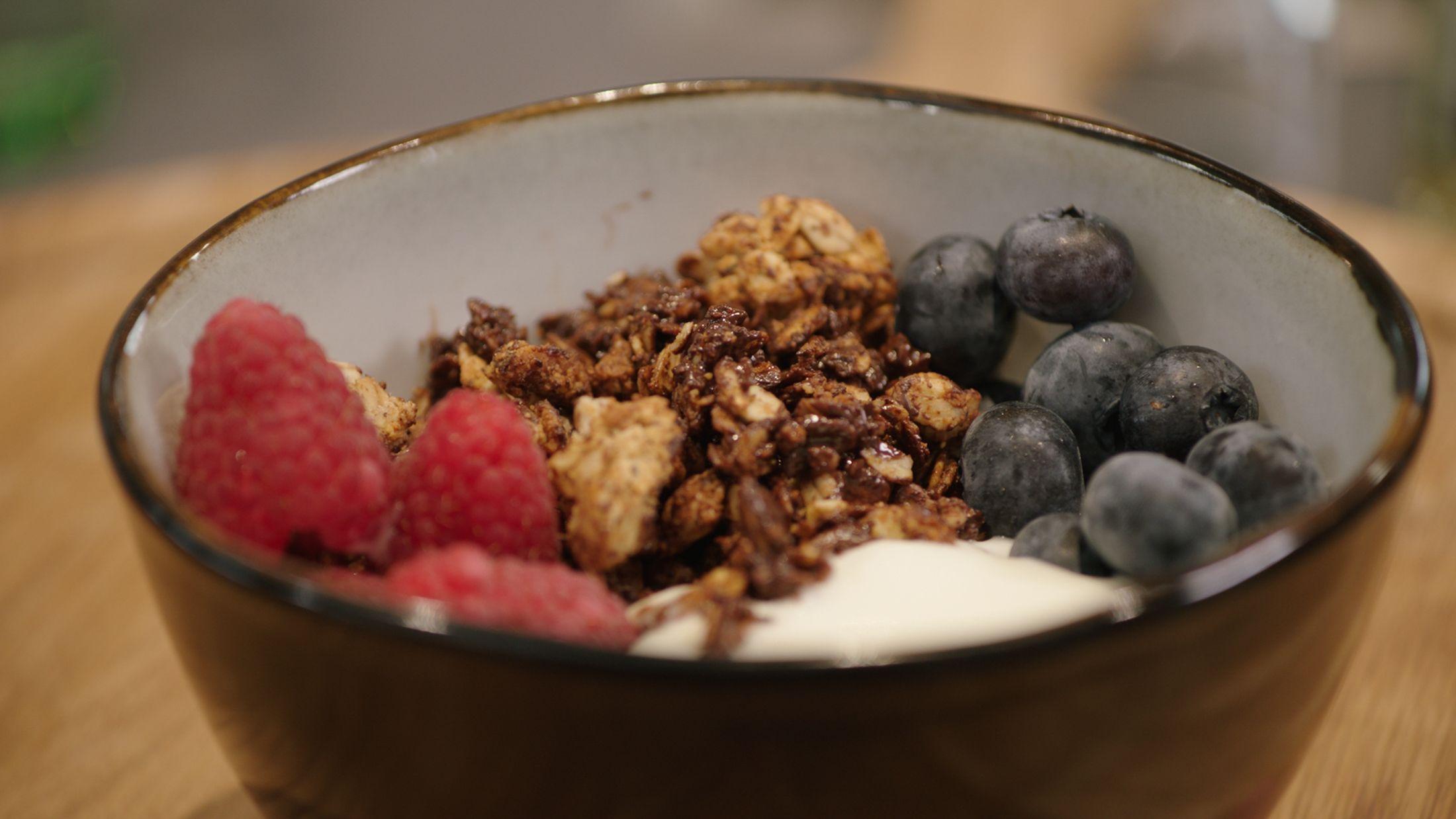 muesli ontbijt afvallen