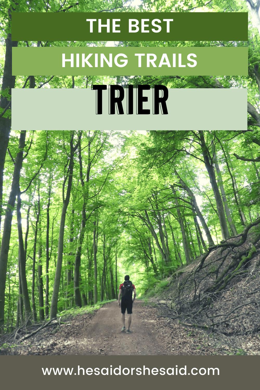 Trier Germany Best Hiking Trails In 2020 Trier Wandern Wanderung