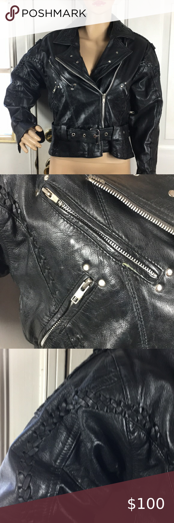 Harley Davidson 100 leather 230handlacing jacket in 2020