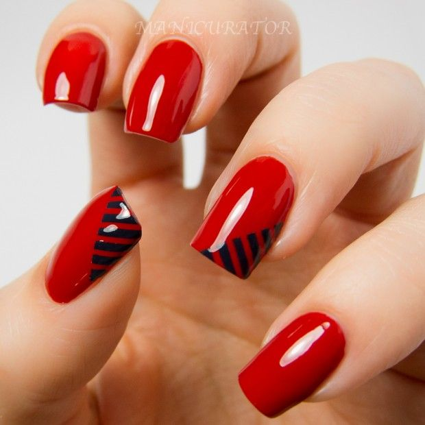 New Fashion Nail Art For Valentines Day 2014 Collectiong 620620