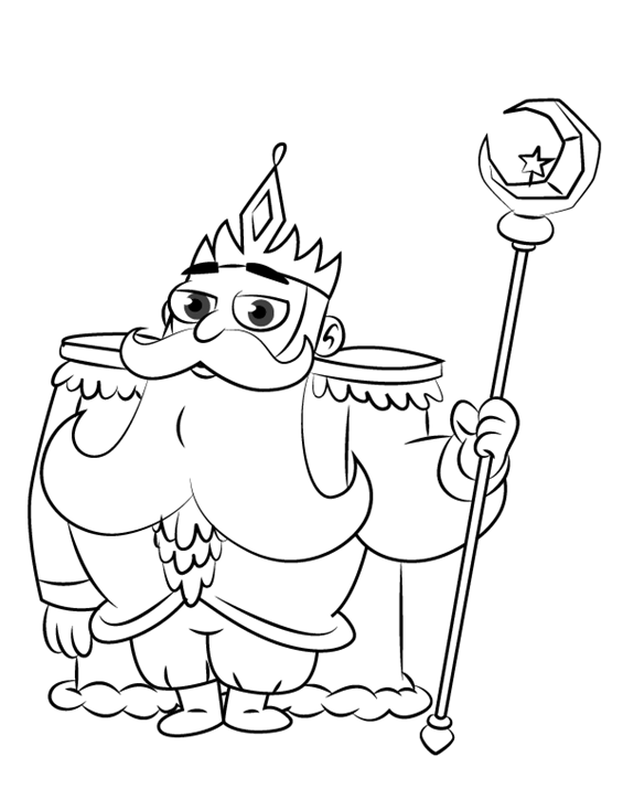 King Butterfly Star Vs The Forces Of Evil Coloring Page Cartoon