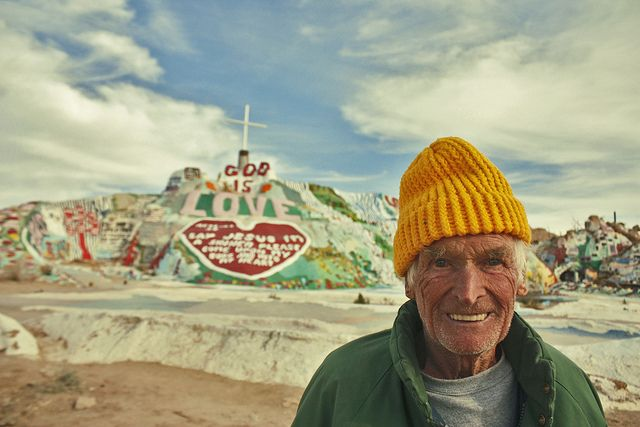Leonard Knight Salvation Mountain Salvation Mountain Slab City Outsider Art