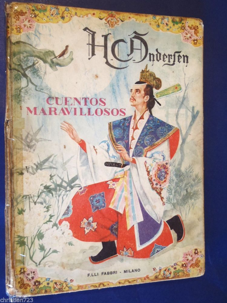 Fab find CUENTOS MARAVILLOSOS HANS CHRISTIAN ANDERSEN FAIRY TALES BEAUTIFUL ILLUS XRARE!!
