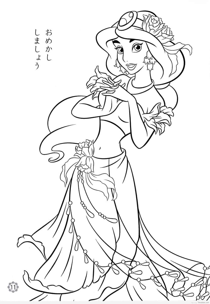 http://timykids.com/disney-princess-jasmine-coloring-pages.html ...