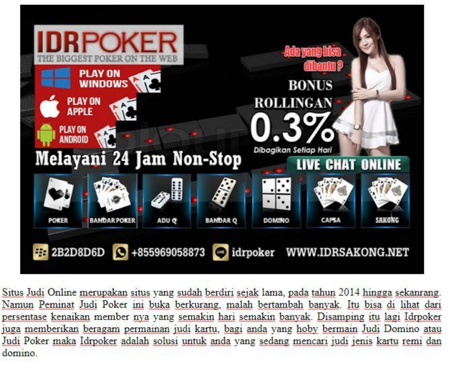 Idrpoker agen poker online indonesia terpercaya boutique galerie marchande geant casino istres