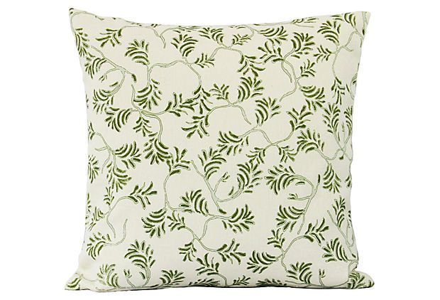 Best Fern 16X16 Pillow Green On Onekingslane Com Pillows 640 x 480