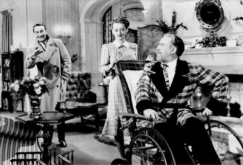 Monty Wooley& Bette Davis in The Man Who Came To Dinner - hysterical
