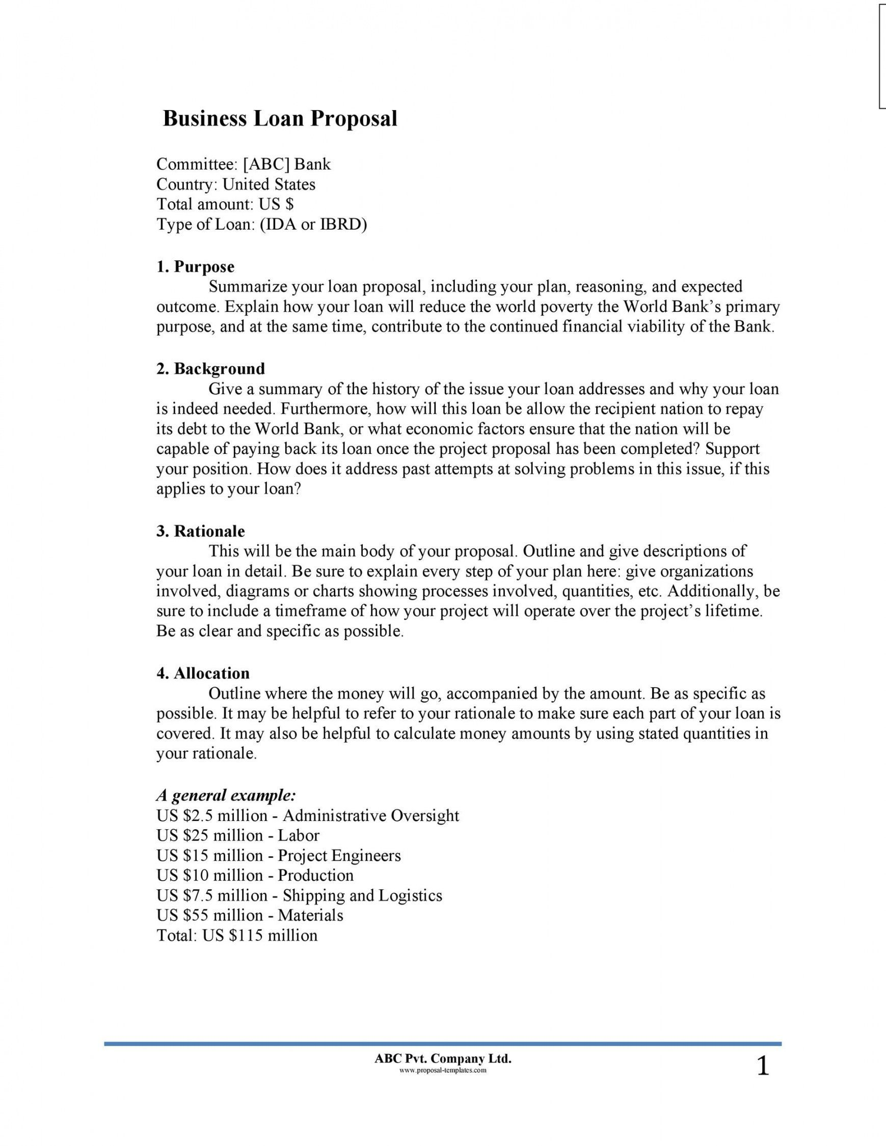 Create A Business Proposal Template in 2020 Proposal