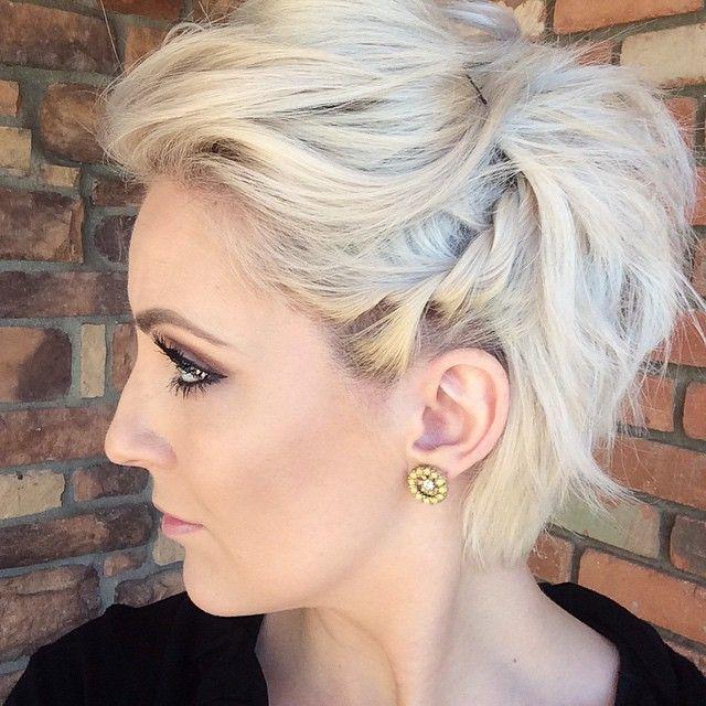Kurze haare flechten elegant