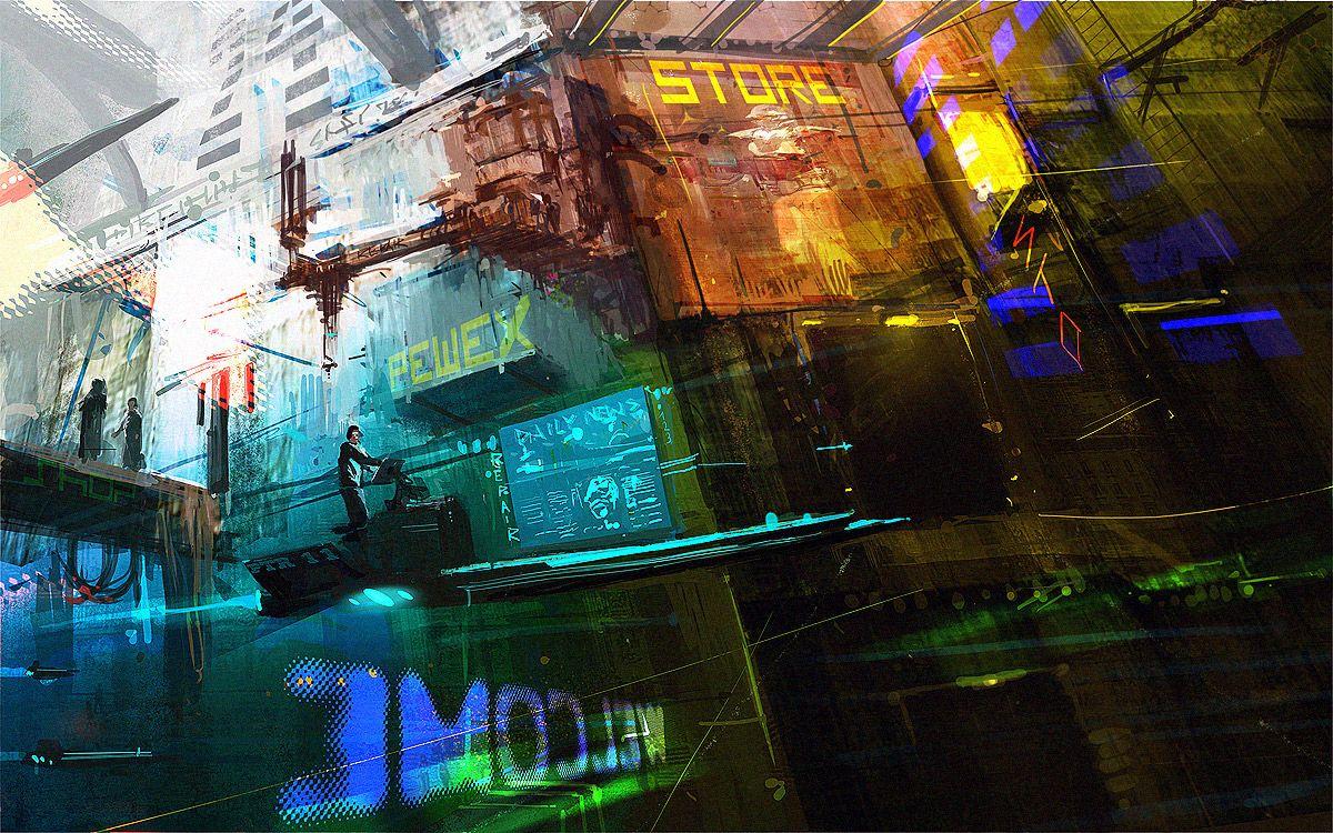 Cyberpunk Atmosphere by Pawel Slabiak