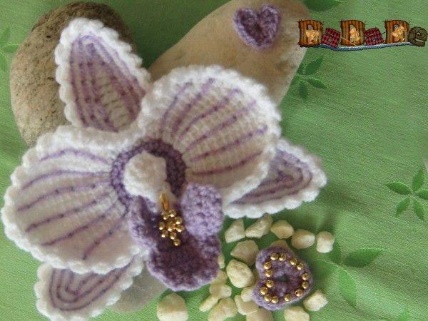 Blumen Häkeln Orchideen Häkeln Pdf Ebook Häkeln Pinterest