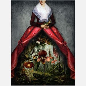 Her Garden Print, 31€, now featured on Fab.